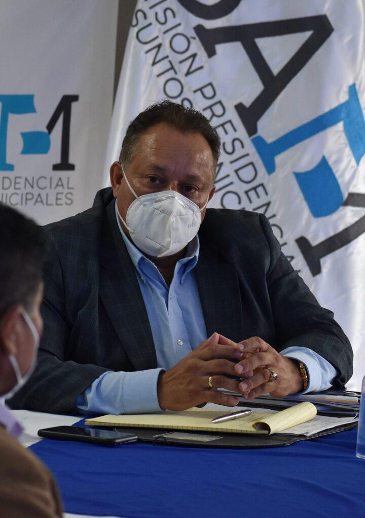 La COPRESAM se reúne con Asociación de Alcaldes y Autoridades Indígenas para acciones de atención a dichas municipalidades