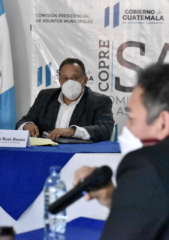 COPRESAM, Nexos Locales y el Proyecto de Gobernabilidad Urbana de USAID, en reunión para impulsar el tema de OMAS