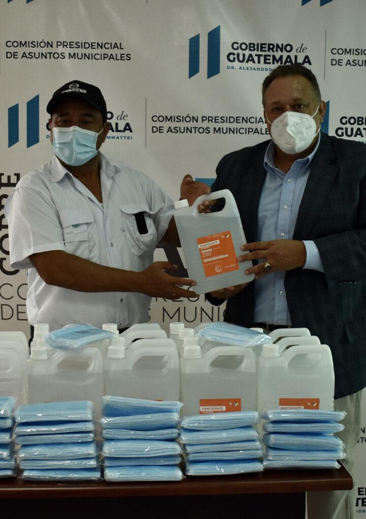 Alcalde de San Vicente Pacaya es atendido por la COPRESAM