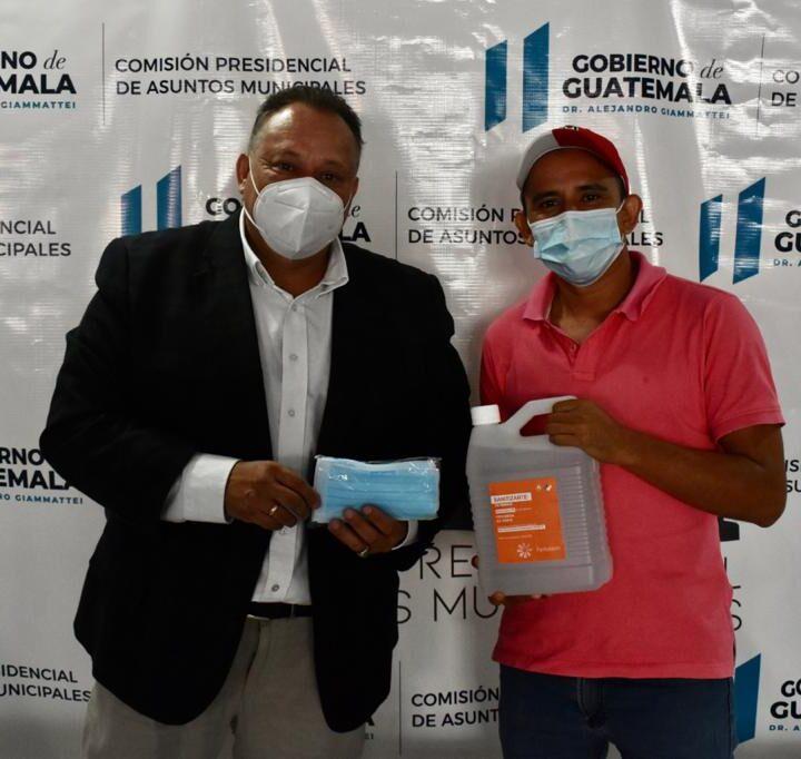 Alcalde de San Juan Bautista, Suchitepéquez es atendido por titular de COPRESAM.