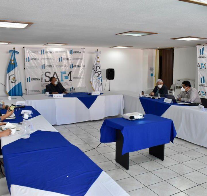 Mancomunidades Copán Chortí, Nororiente y Montaña El Gigante, presentaron a la Copresam modelo de gestión mancomunado.