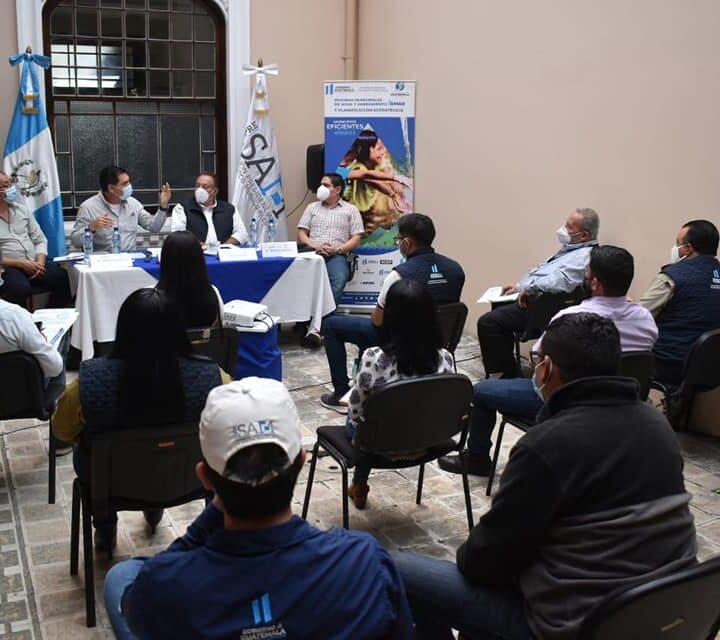 Copresam invita a Water for People, RASGUA, UNICEF e INFOM a compartir experiencias exitosas de OMAS en el país.