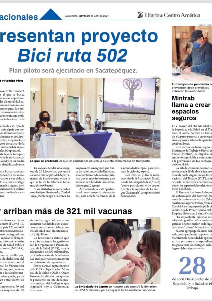Diario de Centro América : 29 de abril de 2021