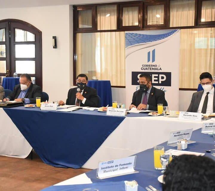 Copresam participa en taller para apoyar el proceso de descentralización del Organismo Ejecutivo.