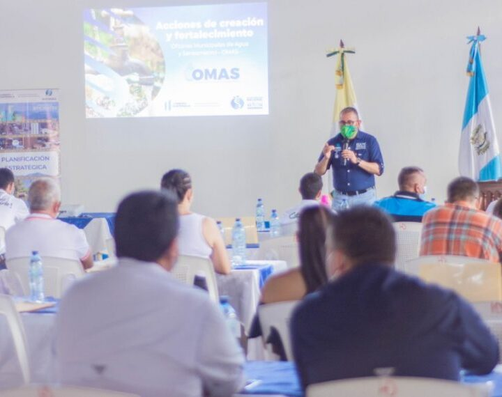 Alcaldes de El Progreso se capacitan en agua y saneamiento