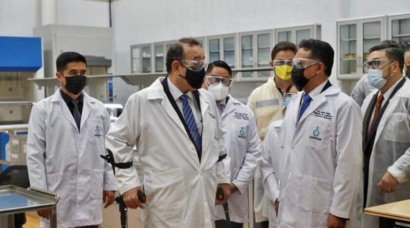 Presidente Giammattei inaugura el Laboratorio de Calidad del Agua y COPRESAM participa en evento